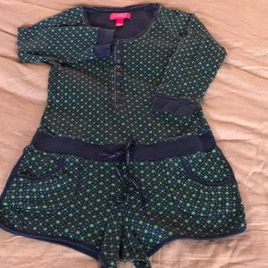 Victoria's Secret thermal onesie shorts pajamas